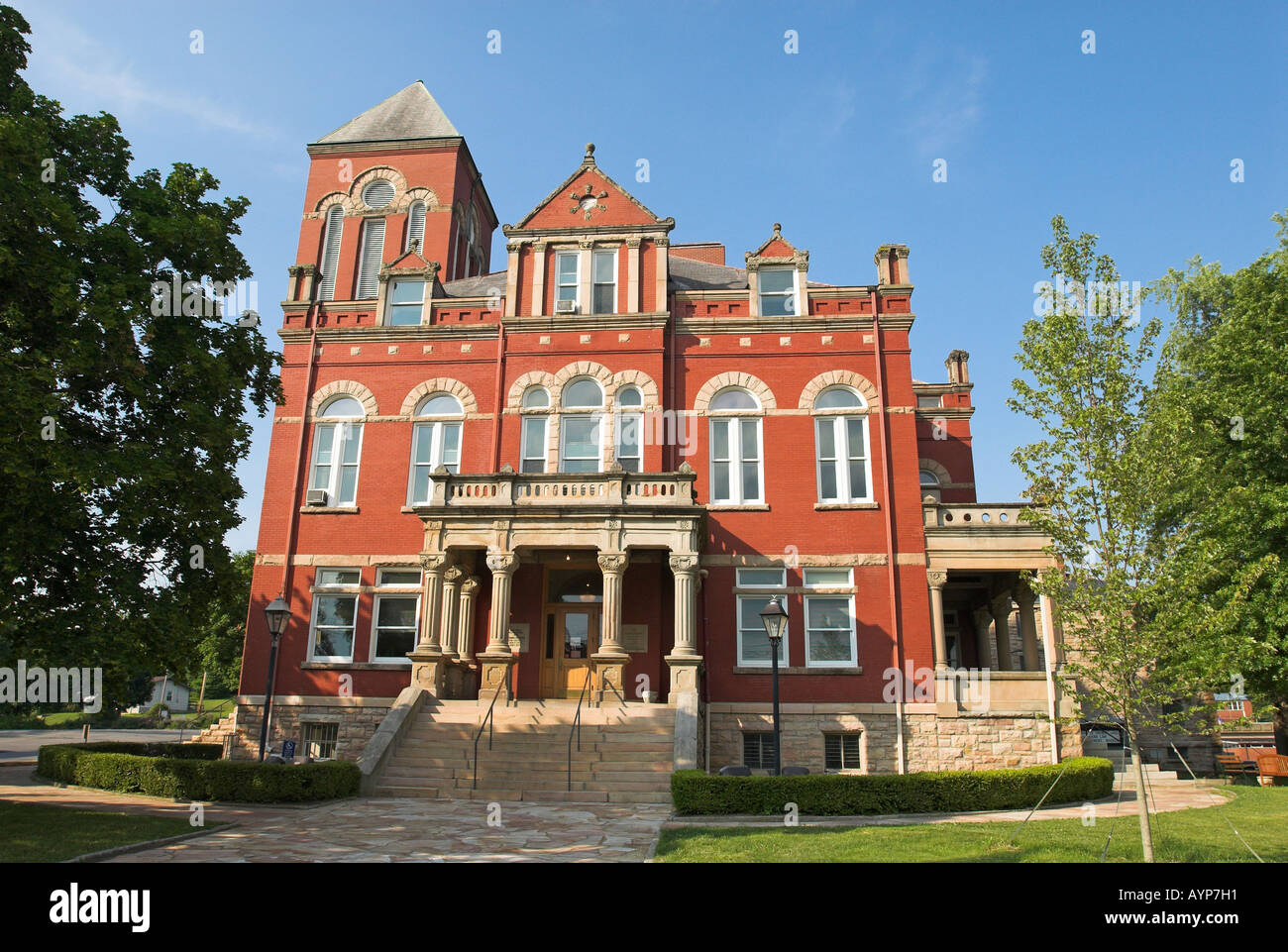 Courthouse in fayetteville west virginia usa stock image
