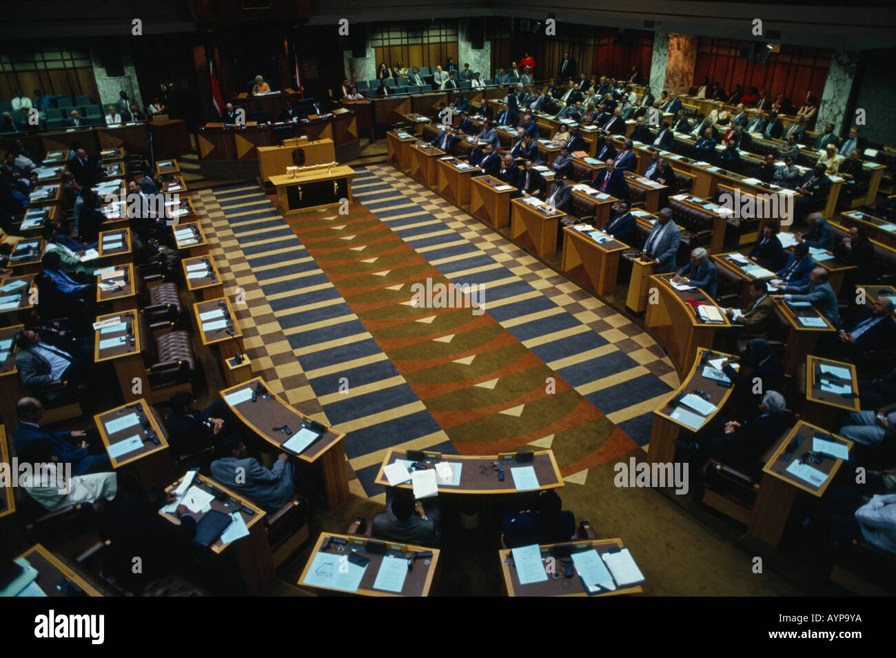SOUTH AFRICA Western Cape Cape Town Houses Of Parliament Interior The  National Assembly In Session Part 42