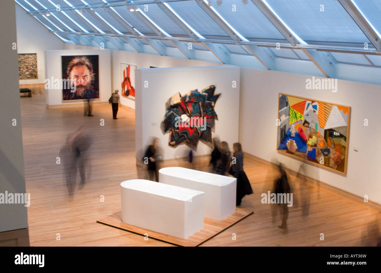 modern wing of the metropolitan museum of in manhattan new stock photo royalty free