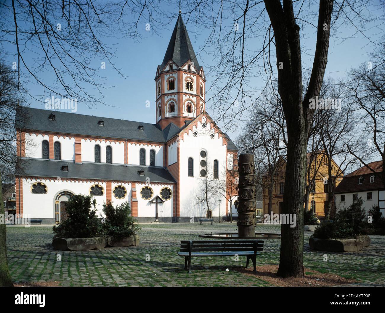kirche sankt margareta in duesseldorf gerresheim rhein stock photo royalty free image 5608974. Black Bedroom Furniture Sets. Home Design Ideas