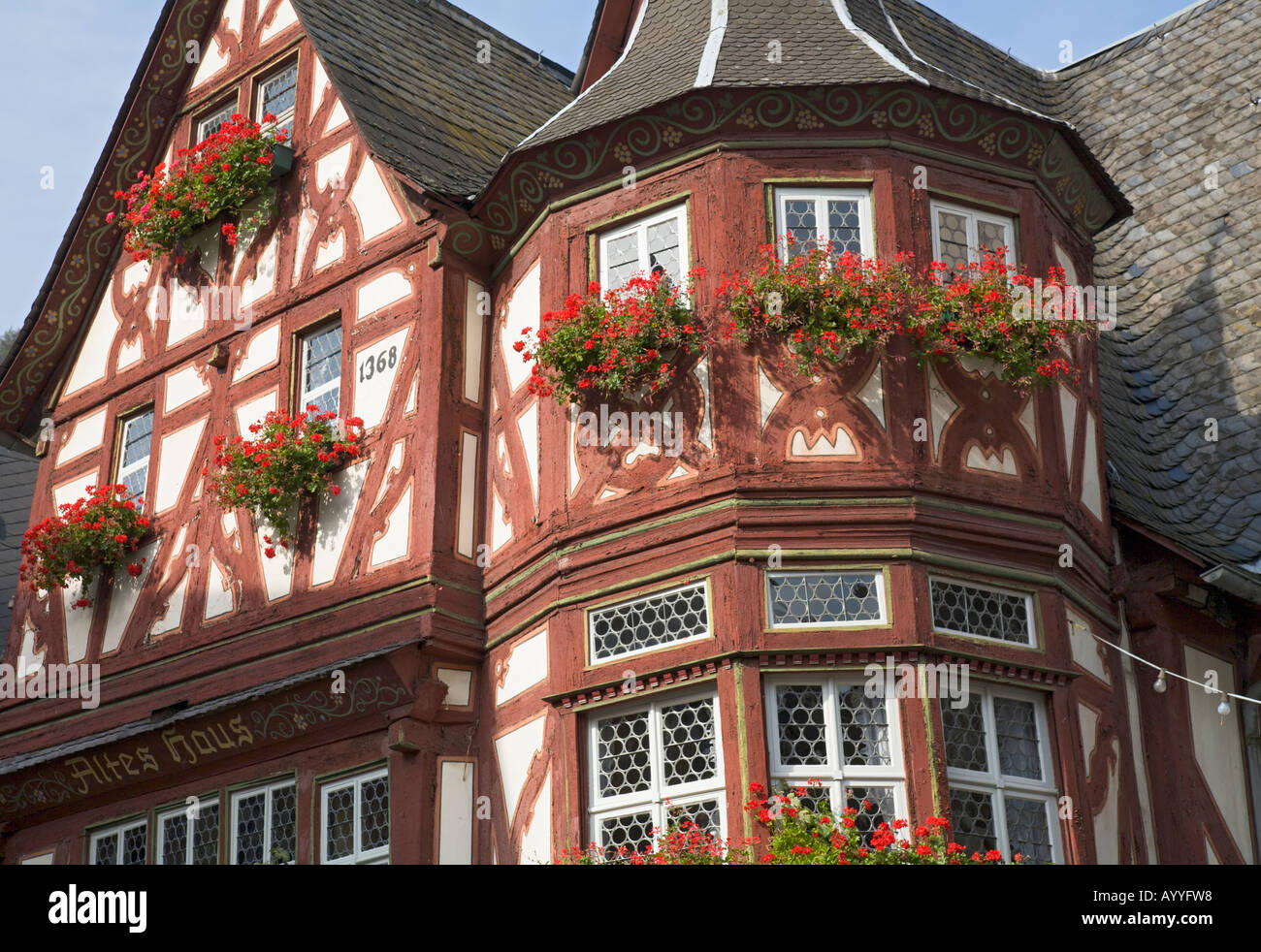 framework architecture in the german middle-rhine valley: an old