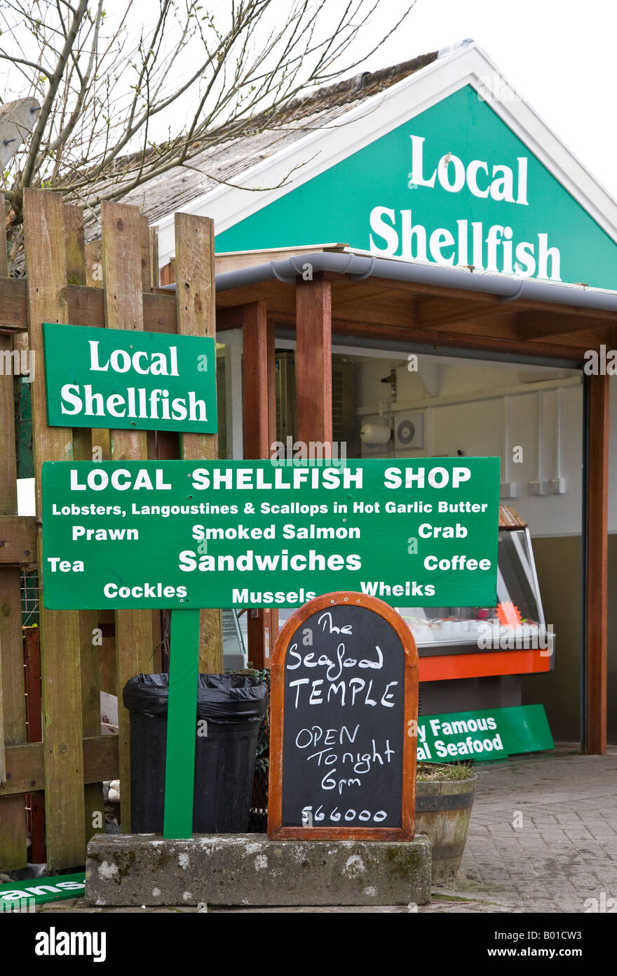 Local shellfish for sale at fish shop oban docks scotland for Local fish store