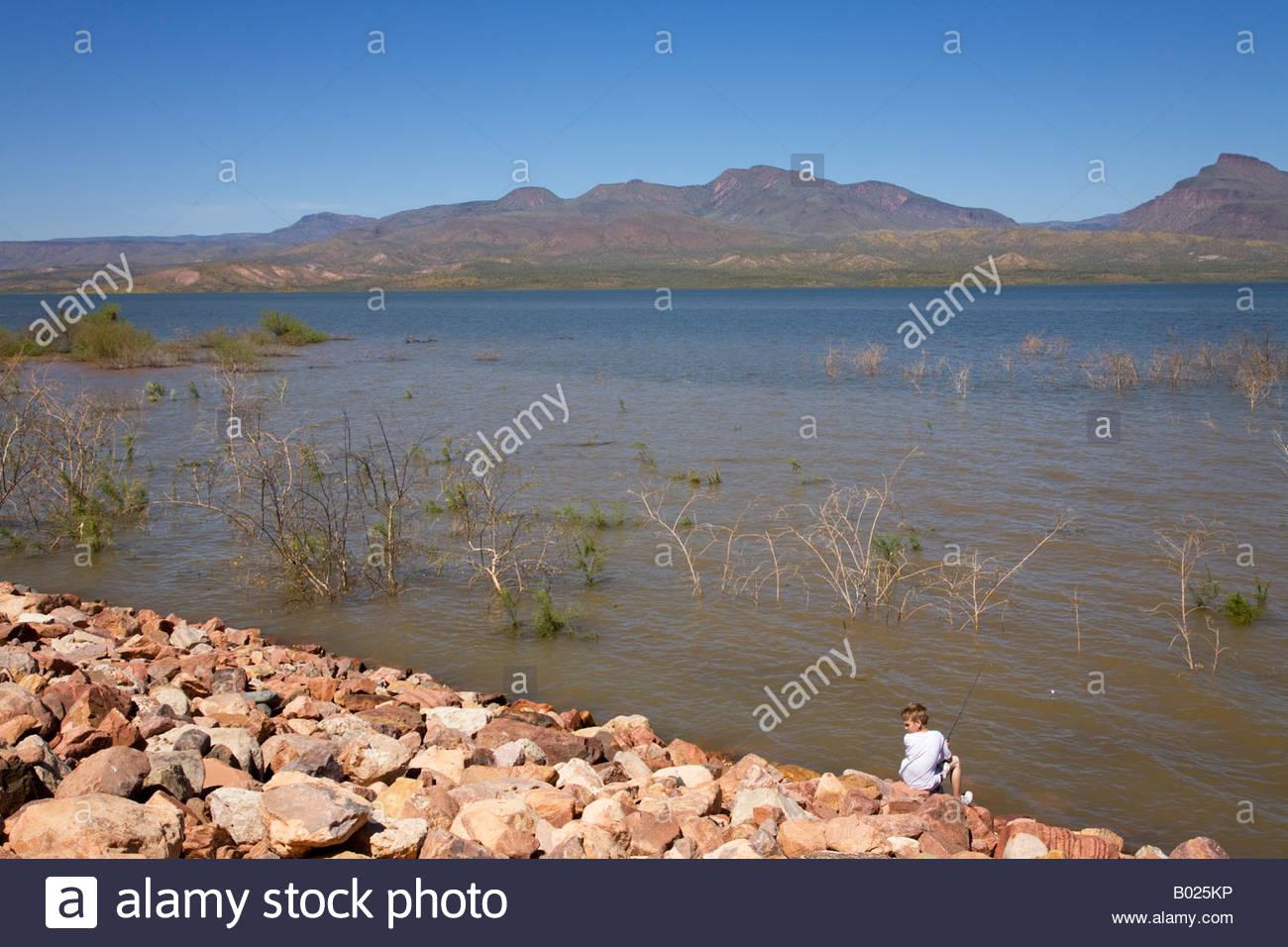 Roosevelt lake vineyard canyon picnic site arizona fishing for Canyon lake az fishing