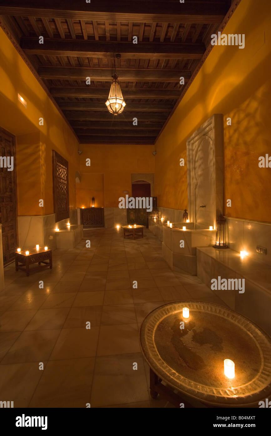 Resting room at aire de sevilla banos arabes arab baths santa stock photo royalty free - Sevilla banos arabes ...