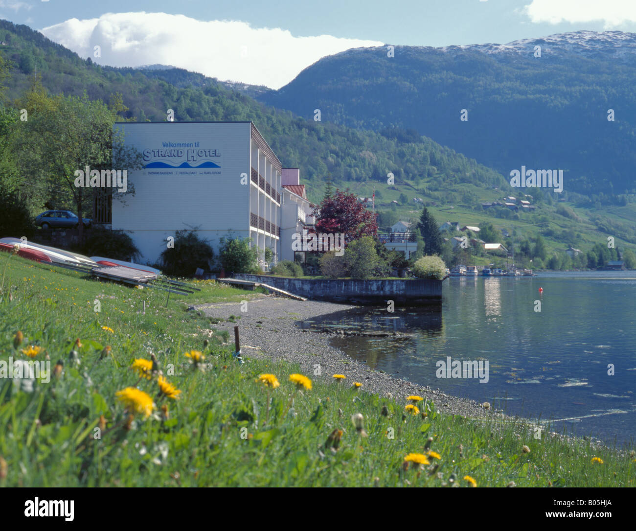 ulvik rica strand fjord hotel