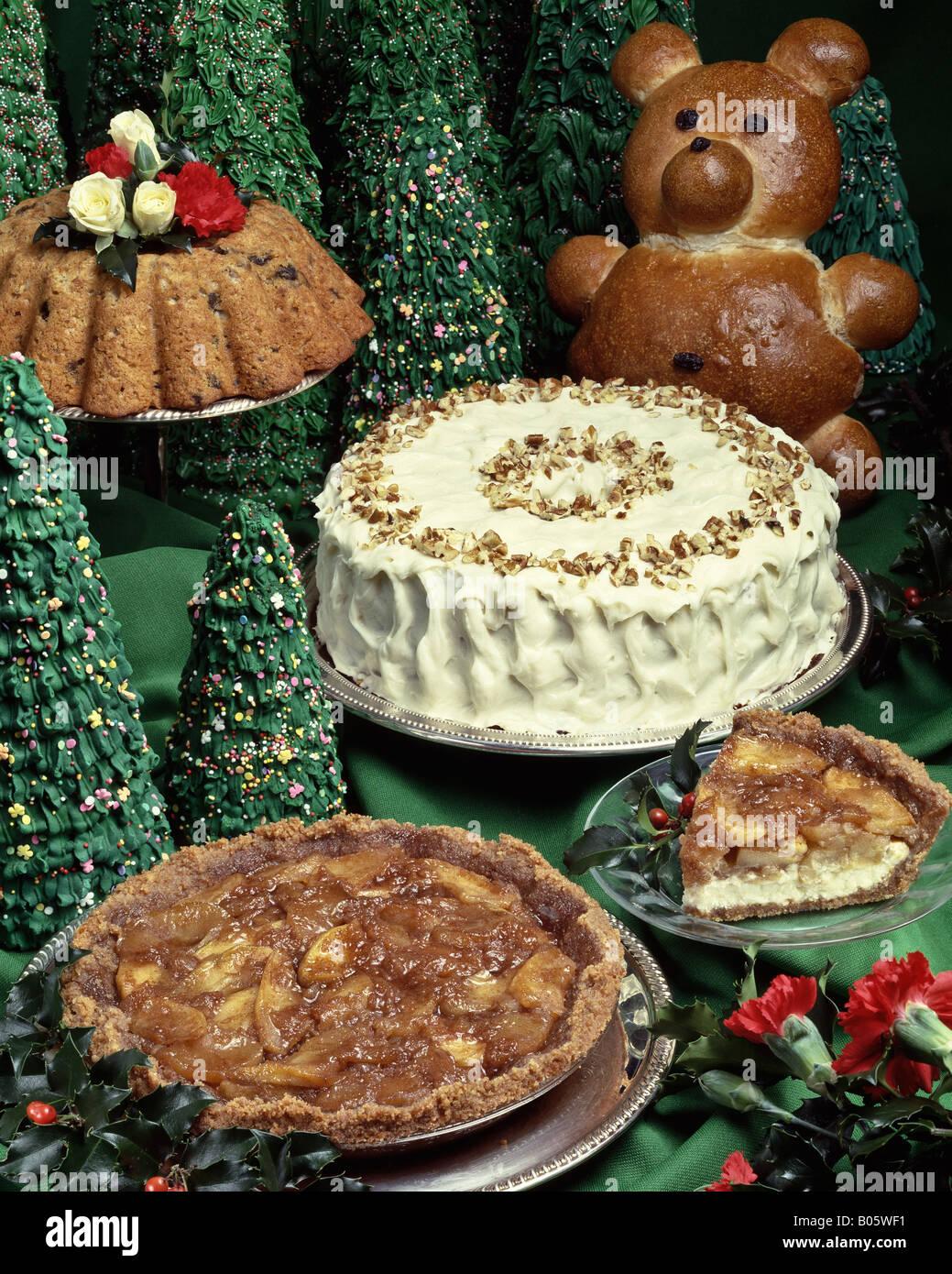 Country Kitchen Recipes Sour Cream Apple Pie Cake Vanilla Icing