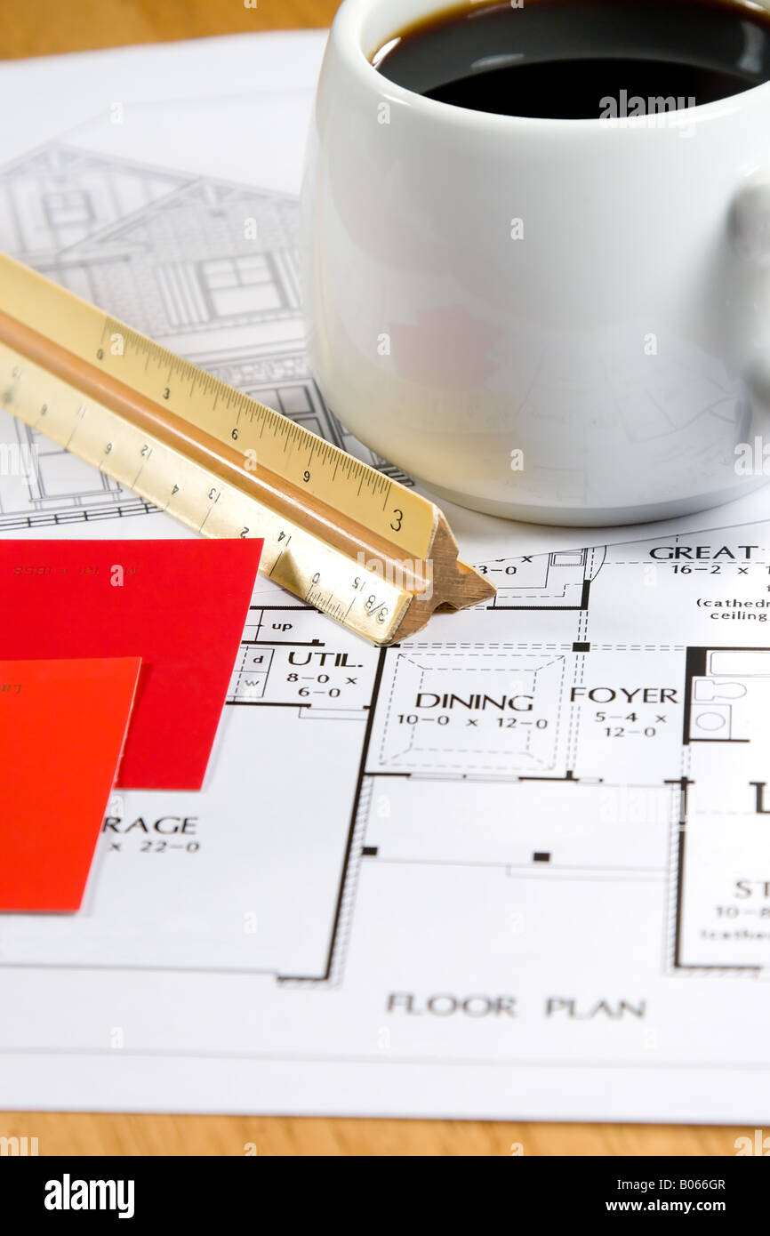 houses design drawings ideas nucdatacom 2d autocad house plans home design drawings and a coffee on an architects desk stock home design drawings