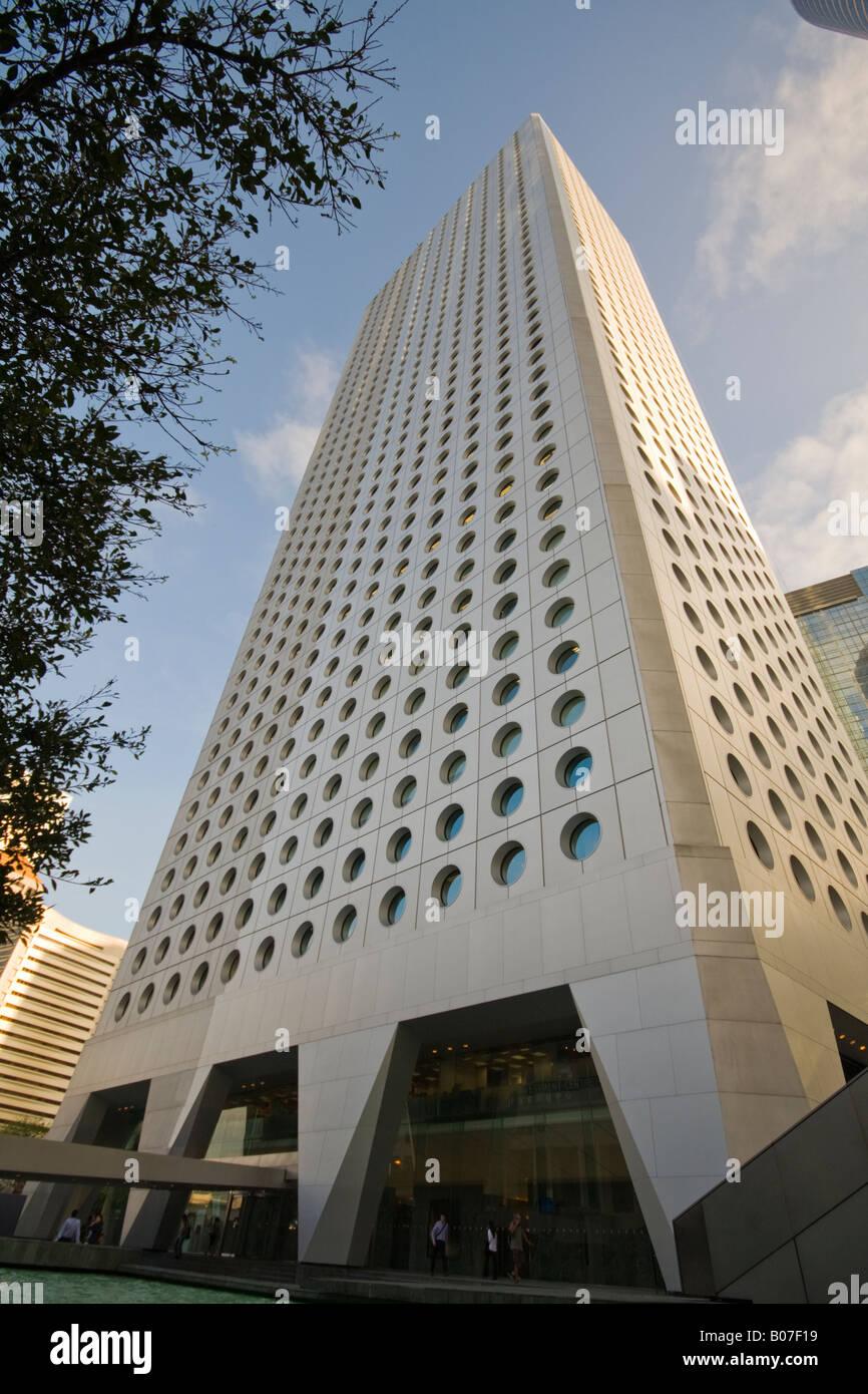 Large office building hong kong china jardine house stock for Jardin hong kong