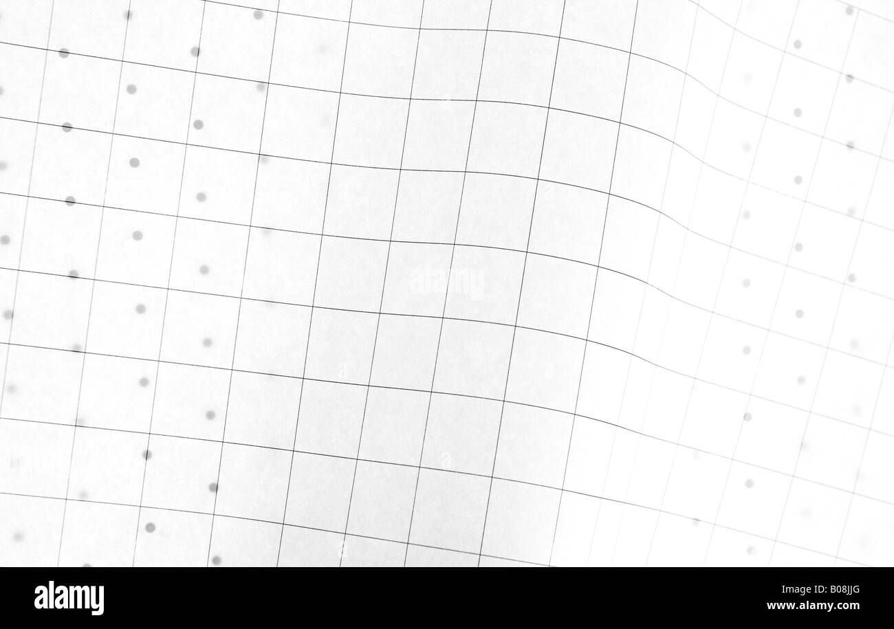 a sheet of regular graph paper over a sheet of dot graph paper – Regular Graph Paper