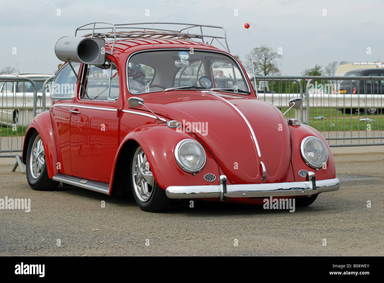 "vw beetle fitted with an air conditioning unit known as a ""swamp"