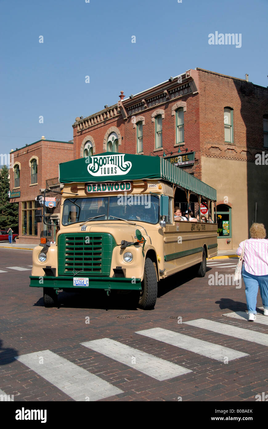 North America USA South Dakota Deadwood Boot Hill Bus Tours - Bus tours usa