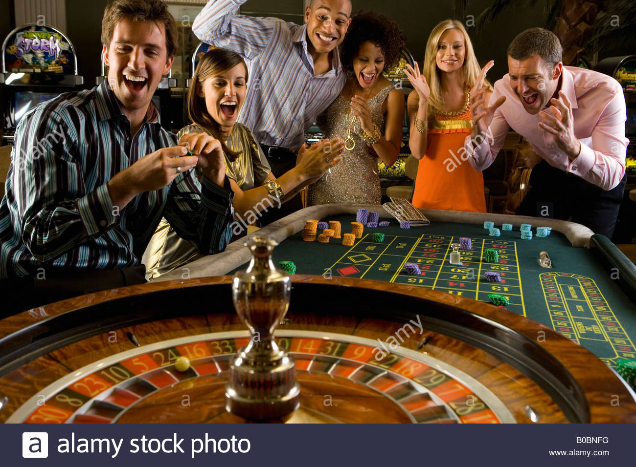 Gambling juice table