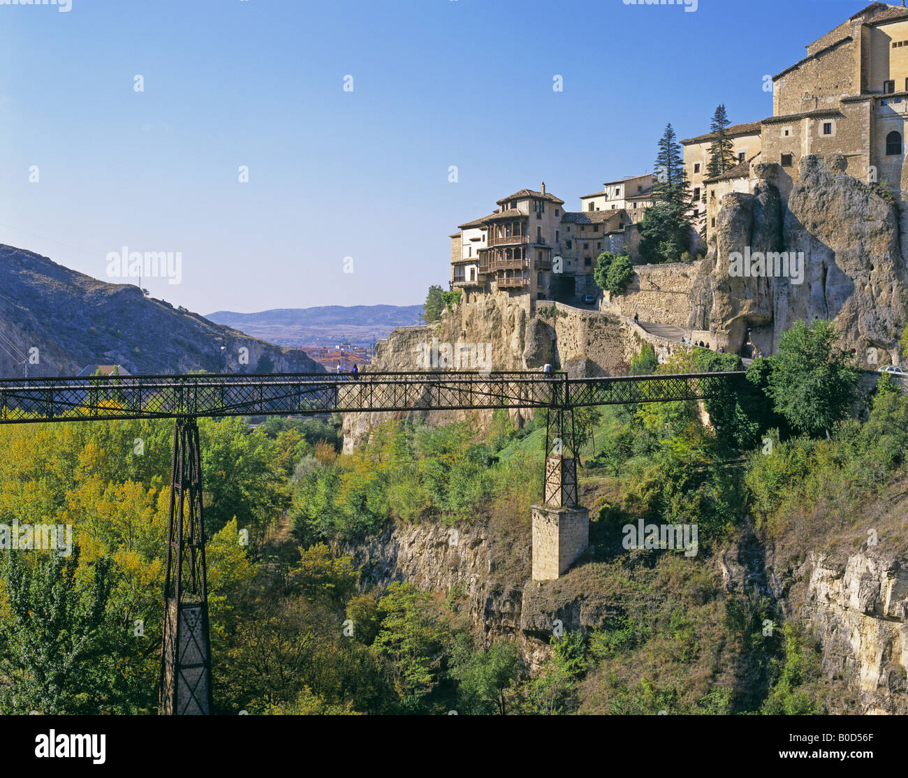 Charming ... The Hanging Houses And A Bridge Cuenca Spain   Stock Photo Home Design Ideas