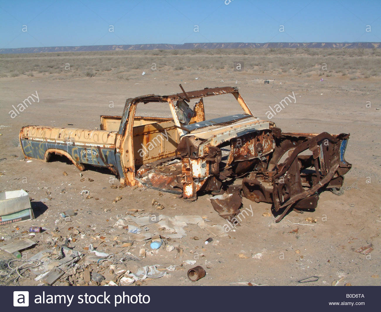 Rusted Out Car Driving