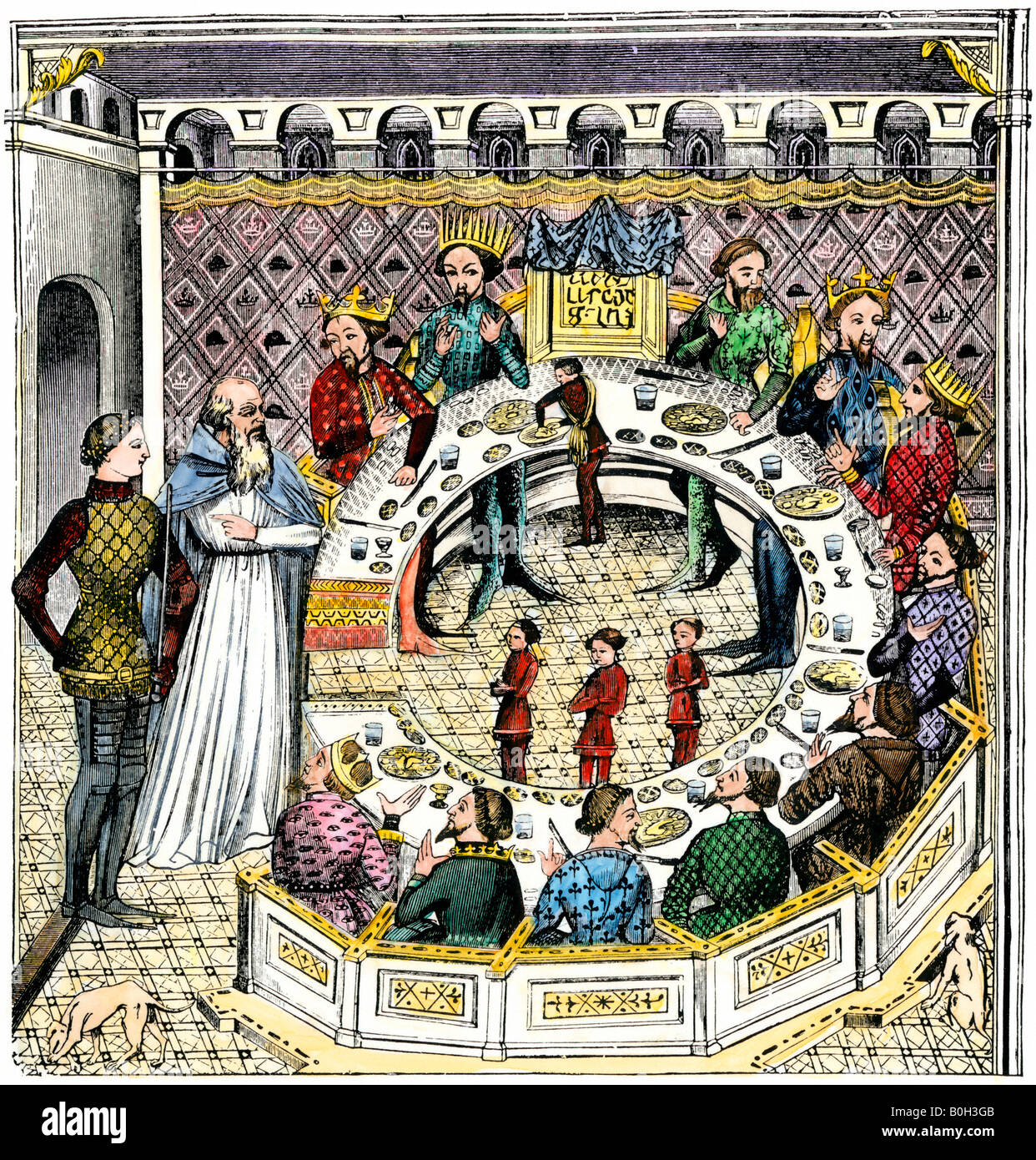 http://c8.alamy.com/comp/B0H3GB/round-table-of-king-artus-of-brittany-B0H3GB.jpg