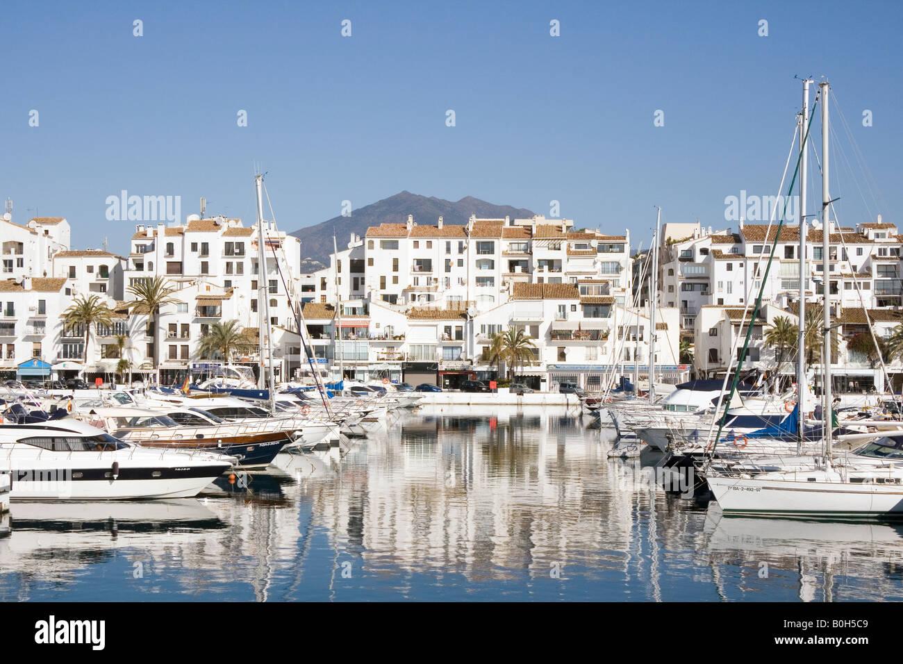 Marbella Costa Del Sol Malaga Province Spain Puerto Jose