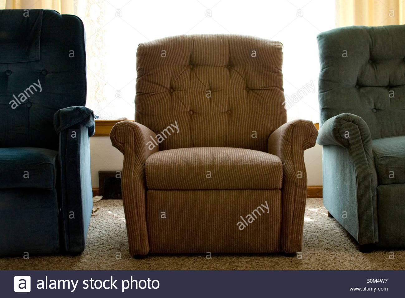 Stock Photo - chairs arm chairs recliners retro USA American & chairs arm chairs recliners retro USA American Stock Photo ... islam-shia.org