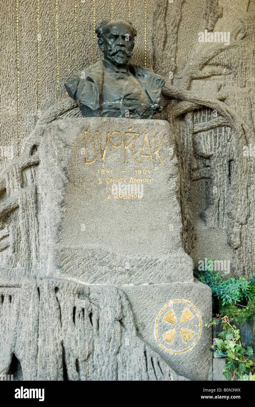 Grave of antonin dvorak vysehrad cemetery prague stock for Mobel dvorak