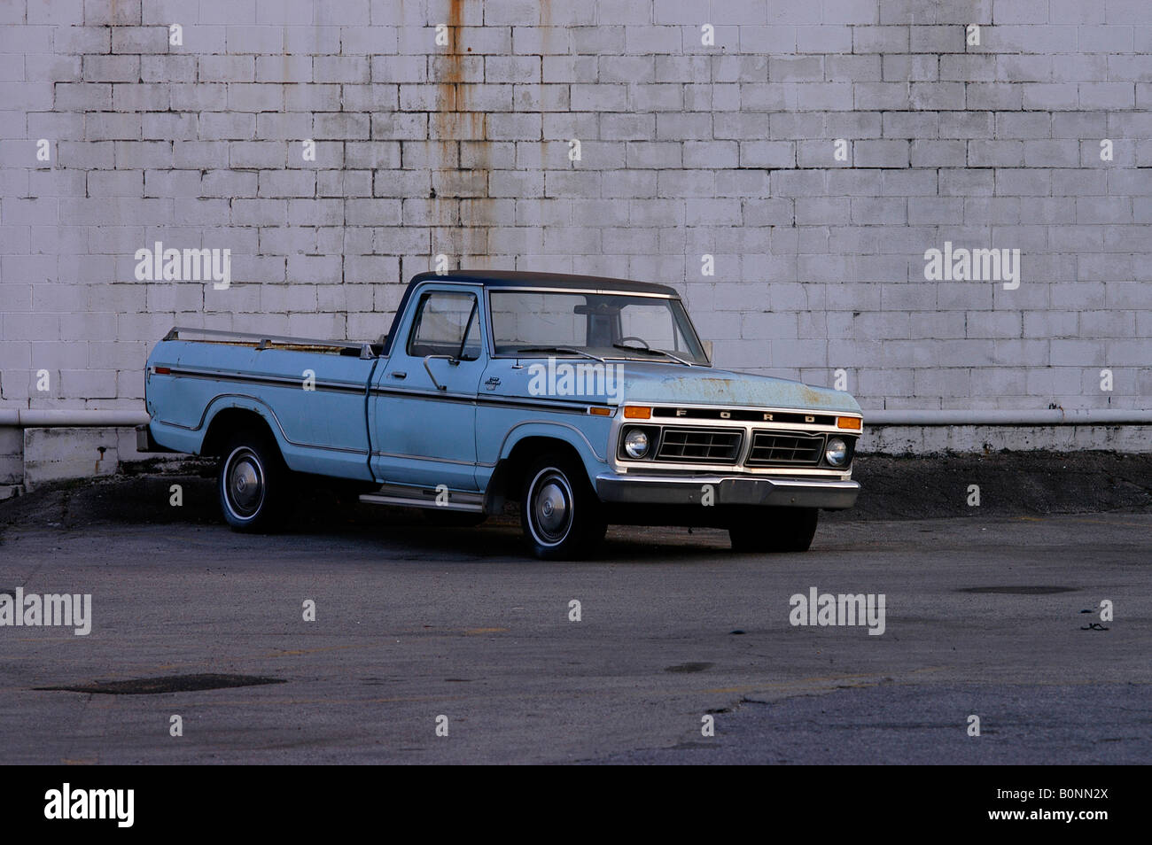 Old Ford pick-up is dumped as petrol prices rise in America, oil ...
