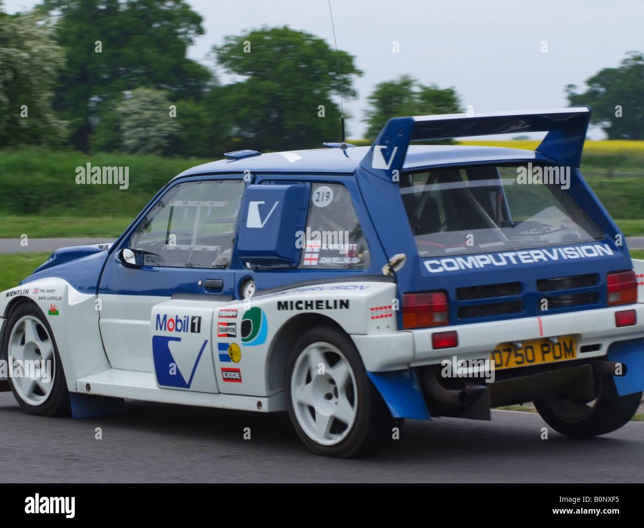 Computervision British Leyland MG Metro 6R4 Historic Rally Car at ...