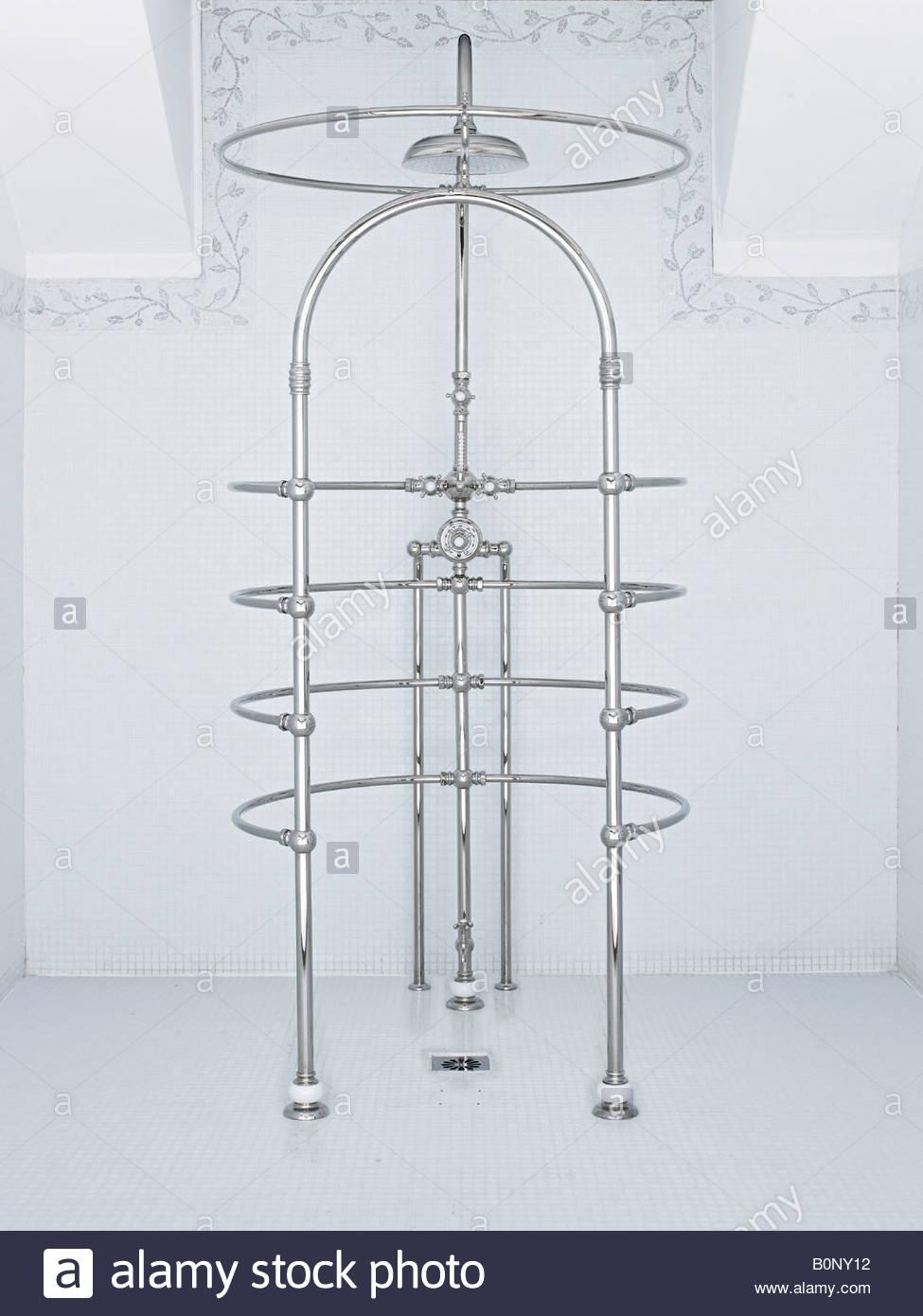 wrap around shower Stock Photo, Royalty Free Image: 17692558 - Alamy