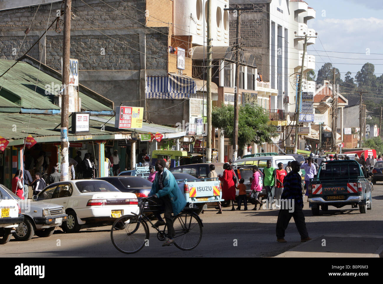 Kenya, City Of Eldoret, Rift Valley Stock Photo, Royalty Free Image ...