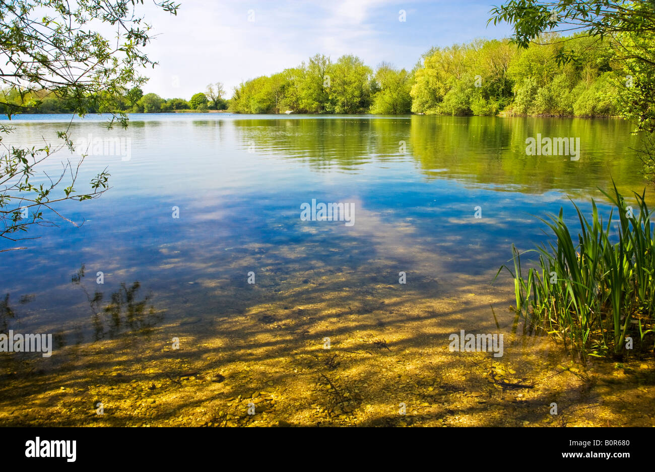 Cotswold Water Park Stock Photos & Cotswold Water Park Stock ...