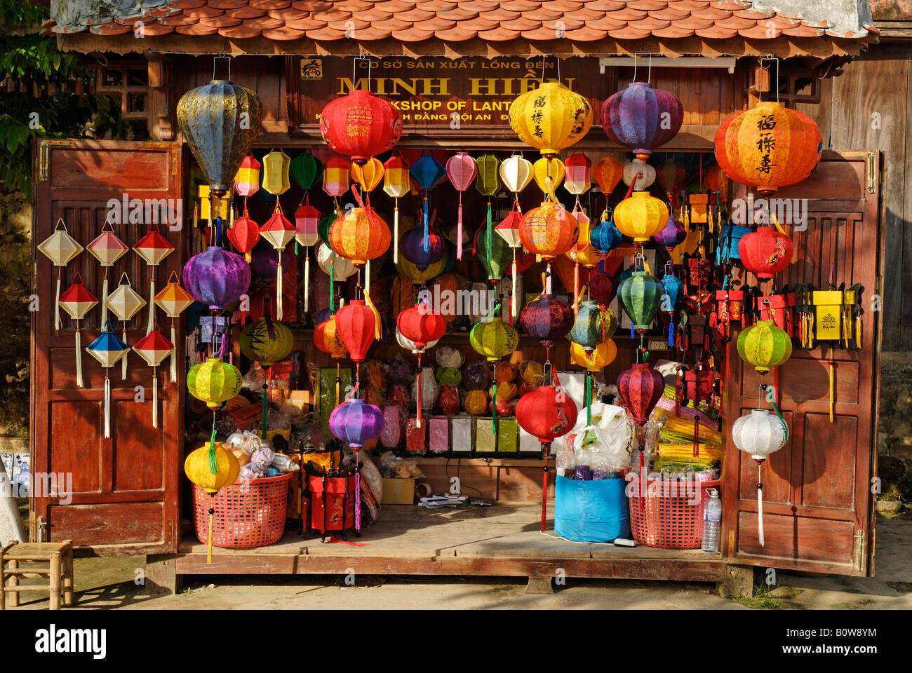 lampions and chinese paper lanterns store in hoi an. Black Bedroom Furniture Sets. Home Design Ideas
