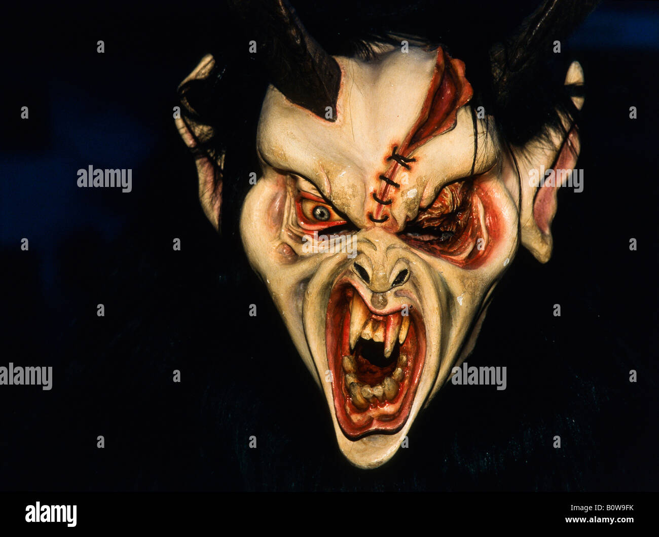 Mask Of The Devil Stock Photos & Mask Of The Devil Stock Images ...
