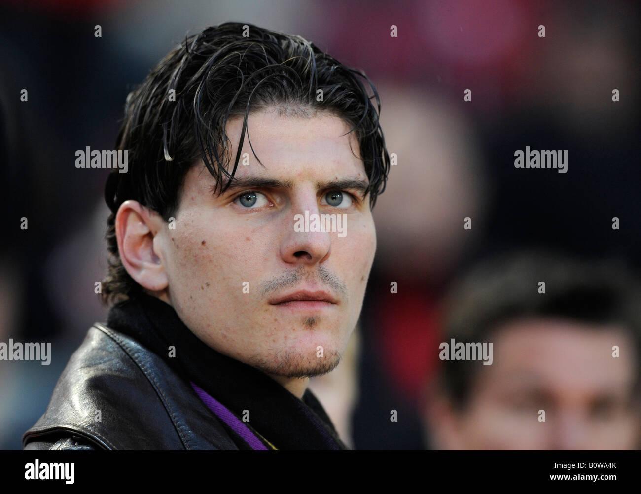 Mario Gomez football player VfB Stuttgart Stock Royalty