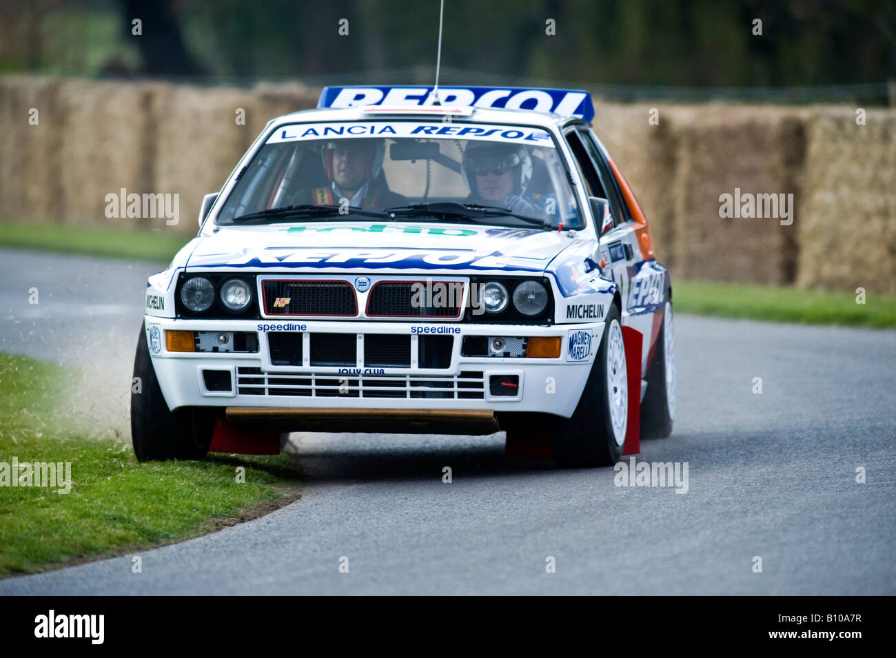 group b lancia delta integrale rally car at goodwood festival of ...