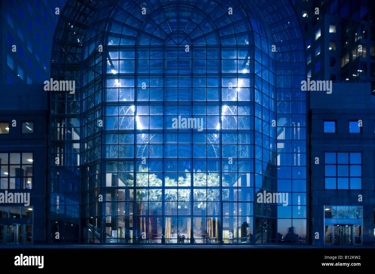 winter garden atrium world financial center towers battery park