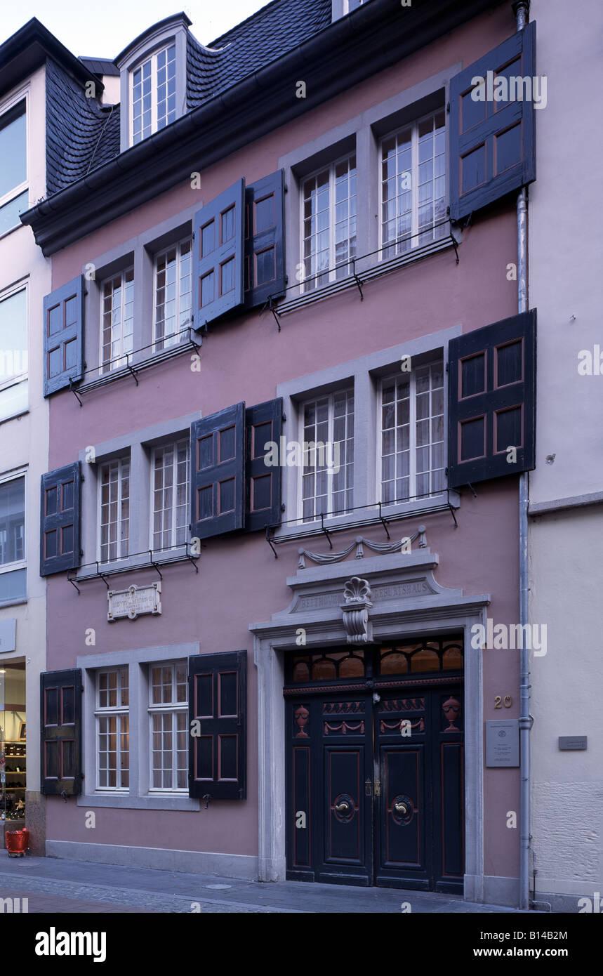 Bonn-Beethovenhaus-in-der-Bonngasse-Gebu