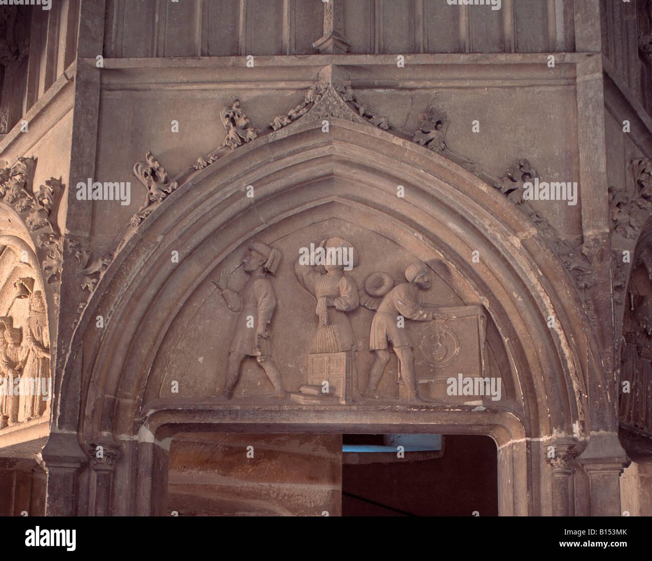 Bourges hotel jacques coeur escalier de la chapelle for Porte de la chapelle