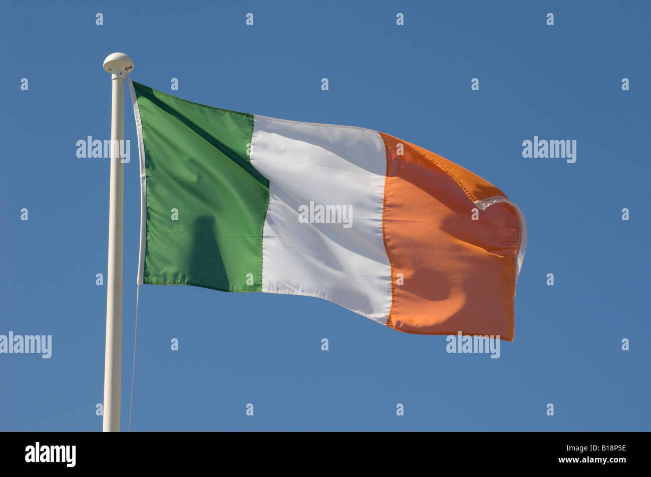 Irish Tricolour Banner Flag Flying
