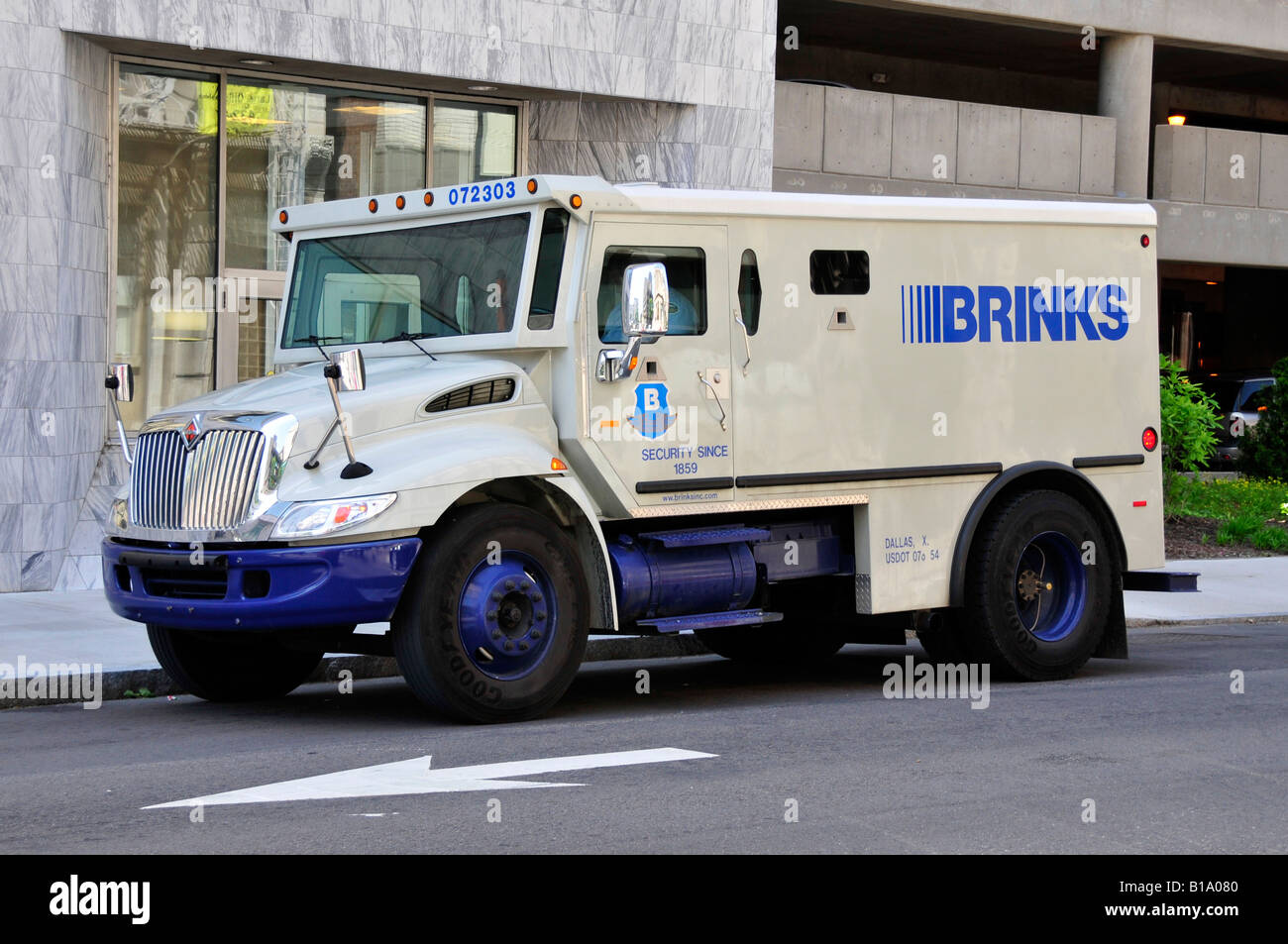 Brinks armored security truck