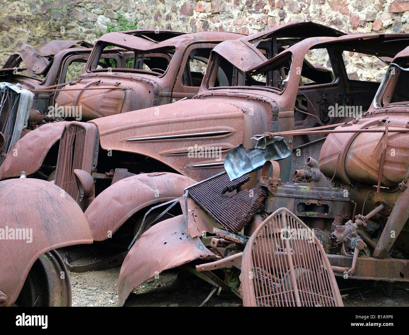 Rusty old classic cars Stock Photo, Royalty Free Image: 18052222 - Alamy