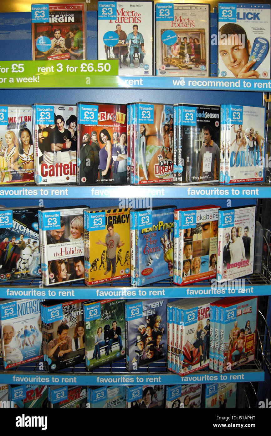 Dvd movie rental mail