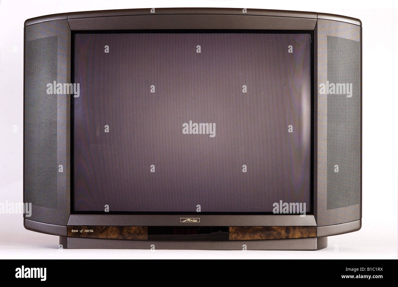 Metz Television Set Stock Photos Metz Television Set Stock  # Model Table Tele