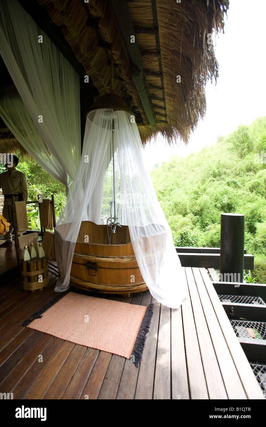 Four Seasons Tent C& Golden Triangle Chiang Rai Thailand Asia & Four Seasons Tent Camp Golden Triangle Chiang Rai Thailand Asia ...