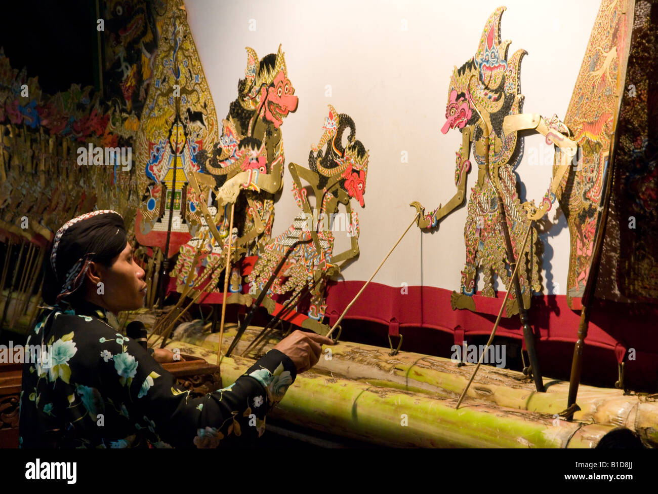 Indonesia java island yogyakarta sonobudoyo museum wayang - Artesania de indonesia ...