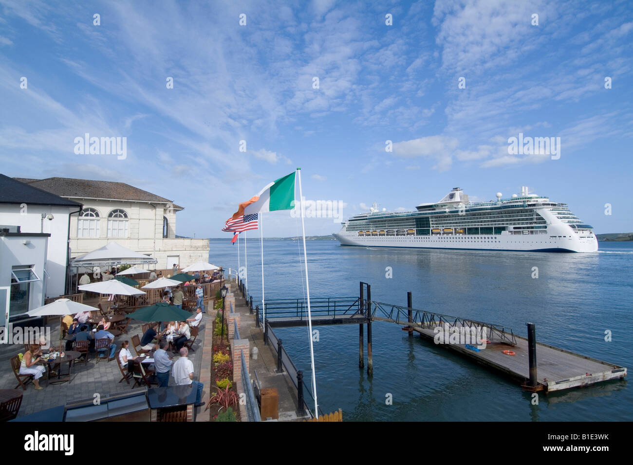 Cruise Ship Cobh Cork Ireland Stock Photo Royalty Free Image - Cruise ship ireland