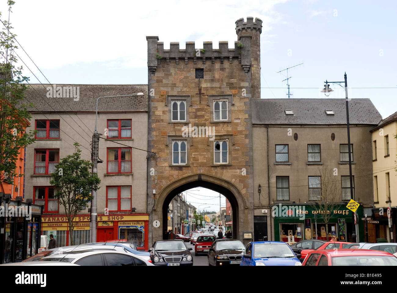 West Gate Clonmel Tipperary Ireland Stock Photo Royalty