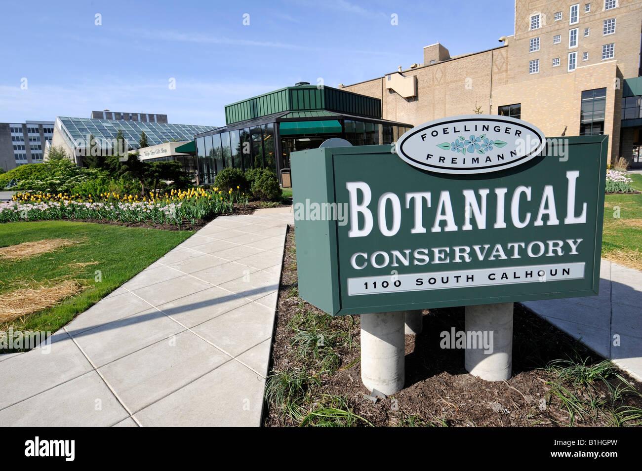 Beau Foellinger Freimann Botanical Conservatory Of Fort Wayne Indiana