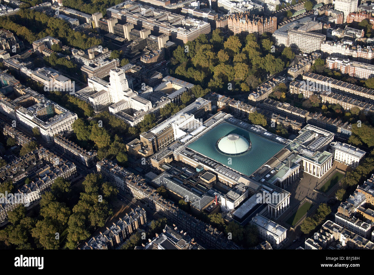Aerial view north of senate house the british museum and for See images of my house