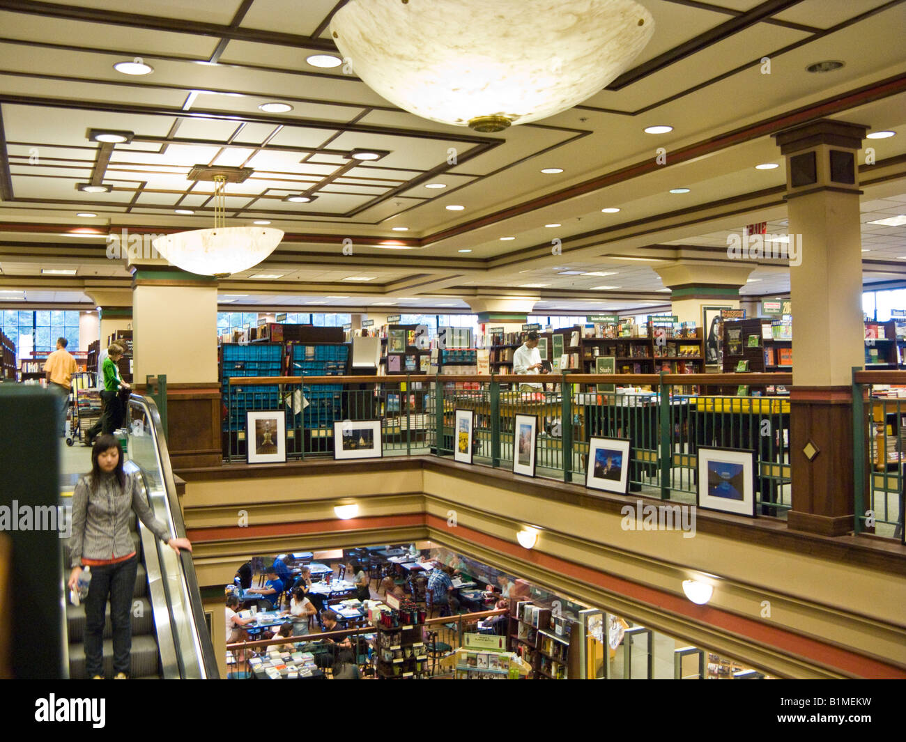 Barnes And Noble, Georgetown, Washington Dc, Usa Stock Photo ...