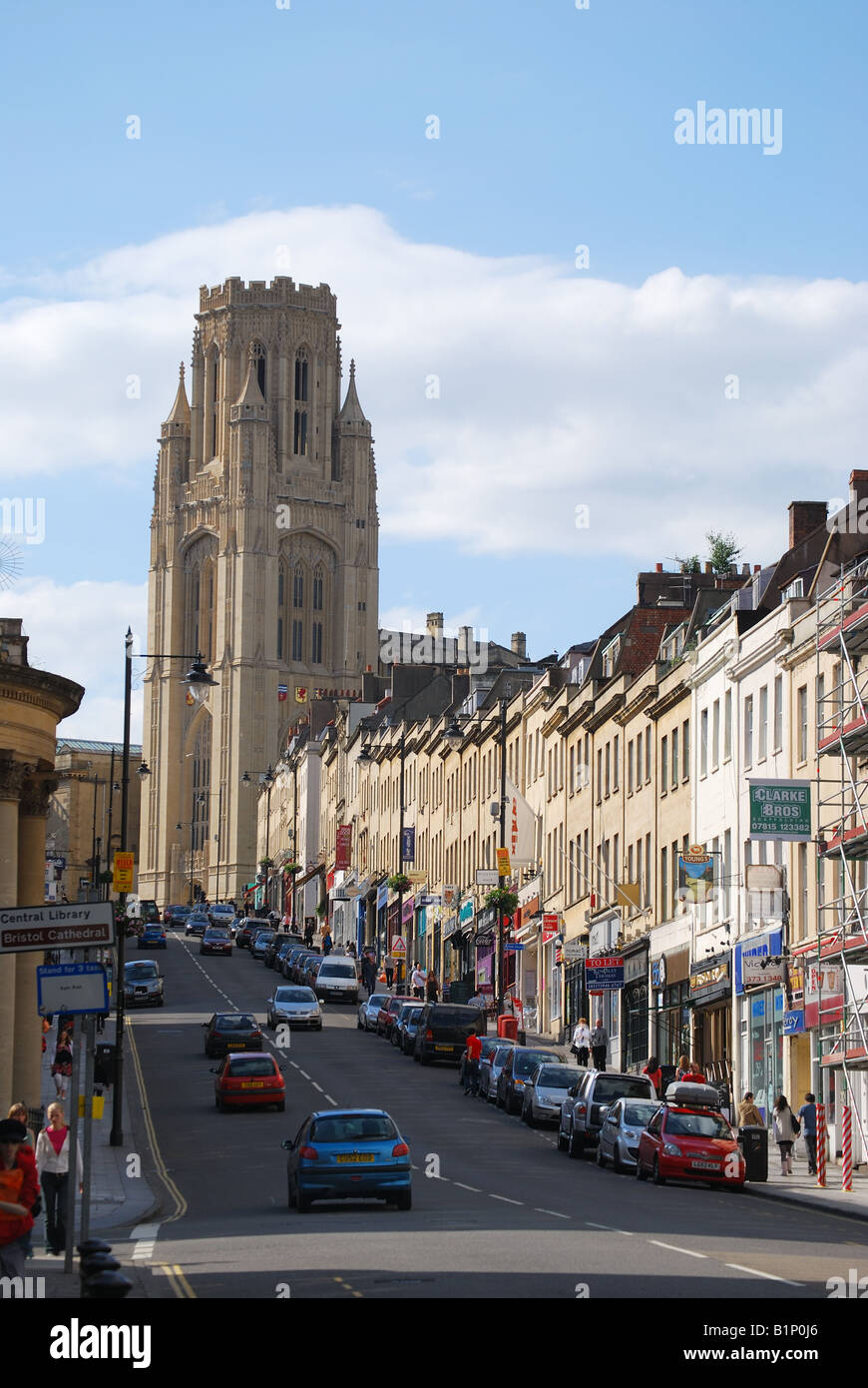 wills memorial building and park street the university of. Black Bedroom Furniture Sets. Home Design Ideas