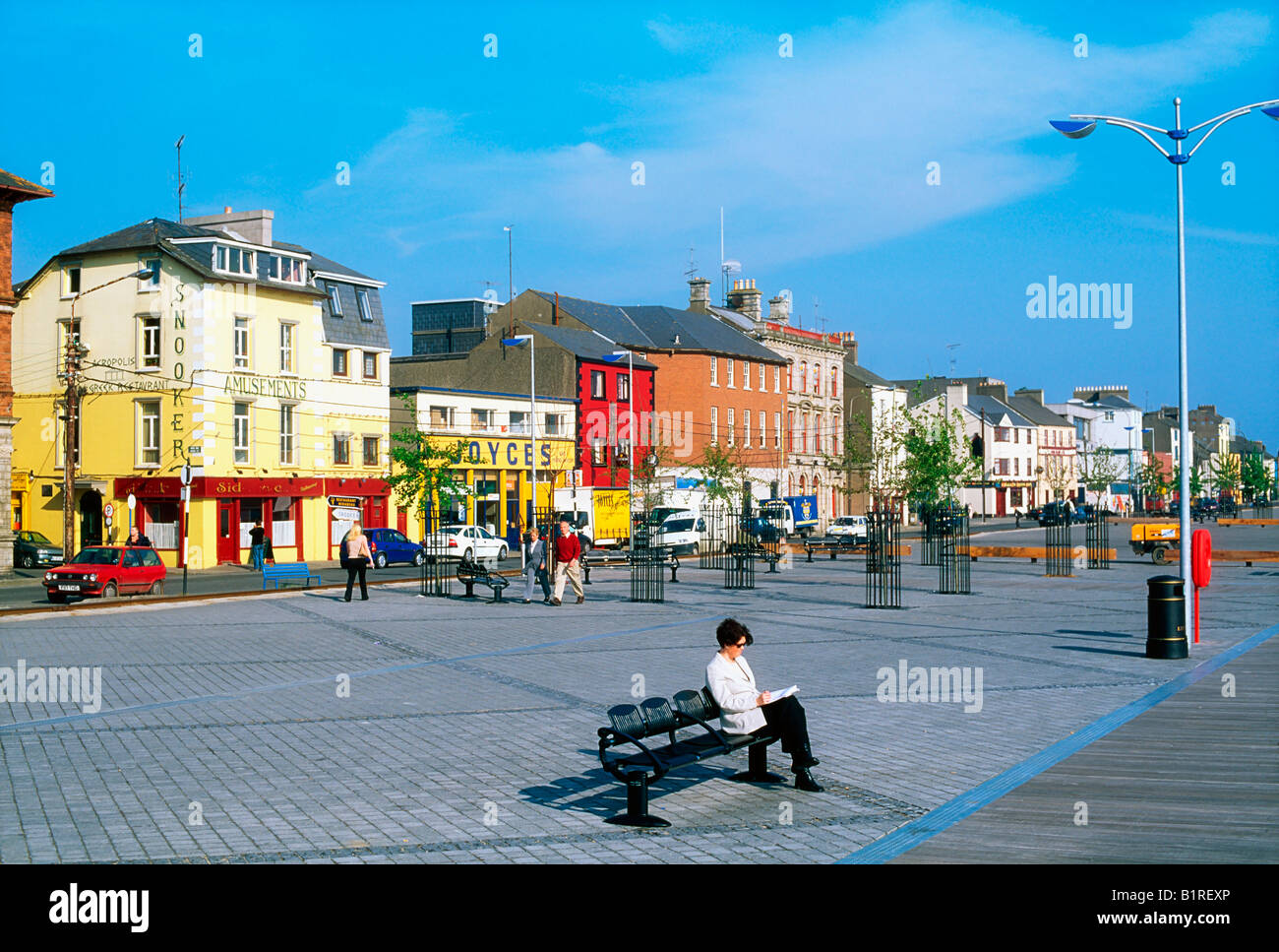 The Quays Wexford Town Co Wexford Ireland Stock Photo