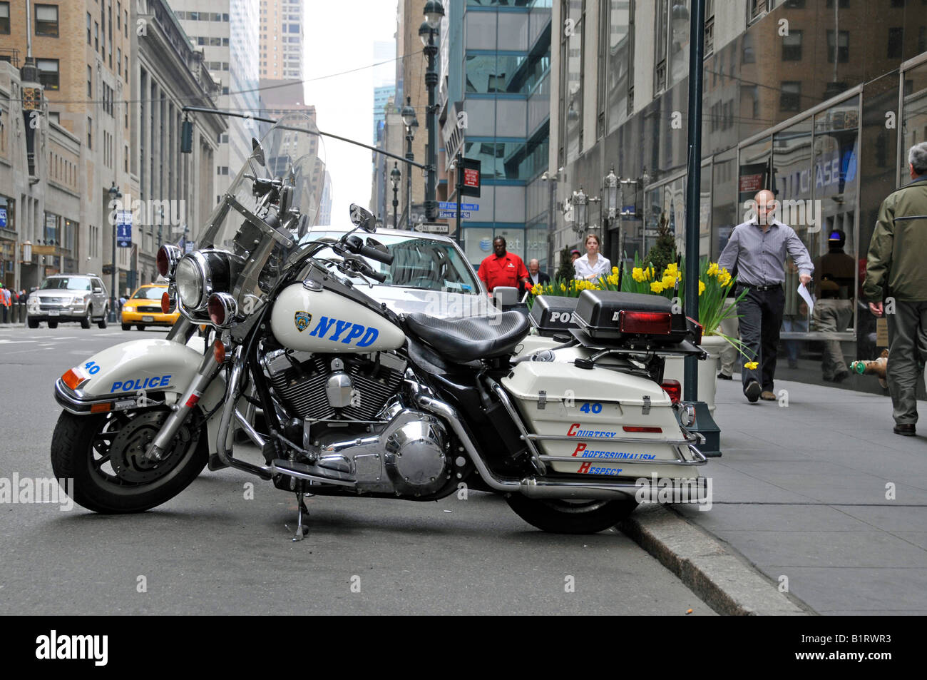 harley davidson police motorcycles of the new york police