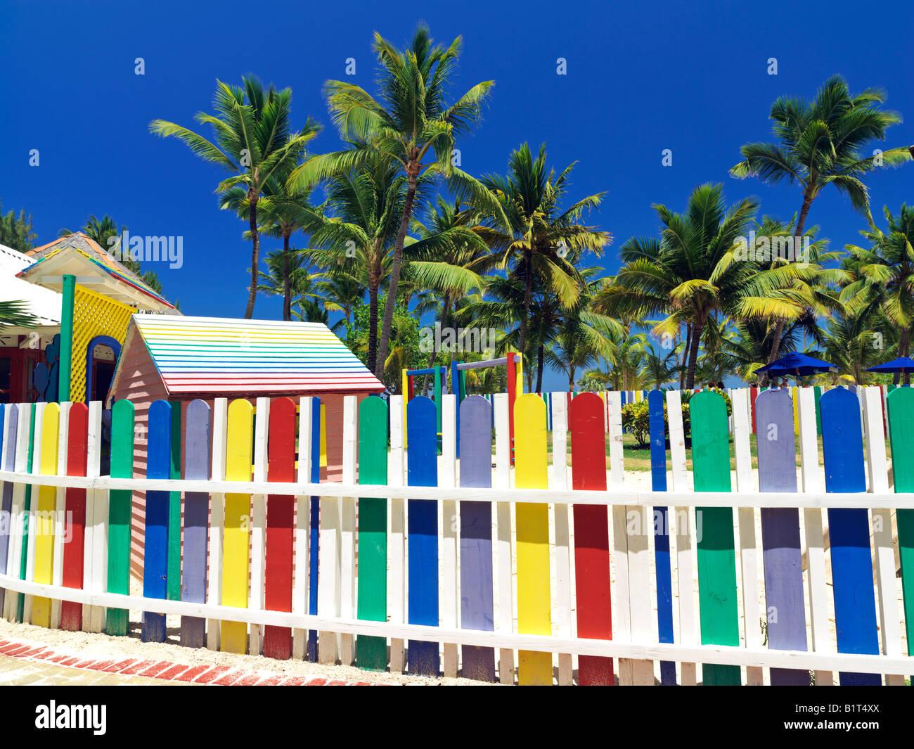 Dominican republic punta cana bavaro beach multi colored